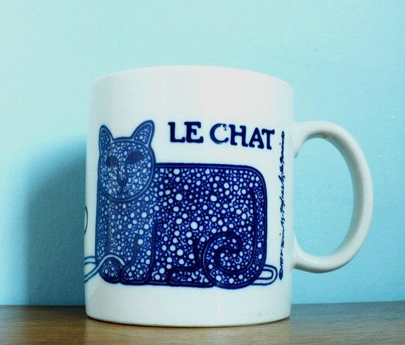 Le Chat Taylor & Ng French Mug Series 1978 Edition