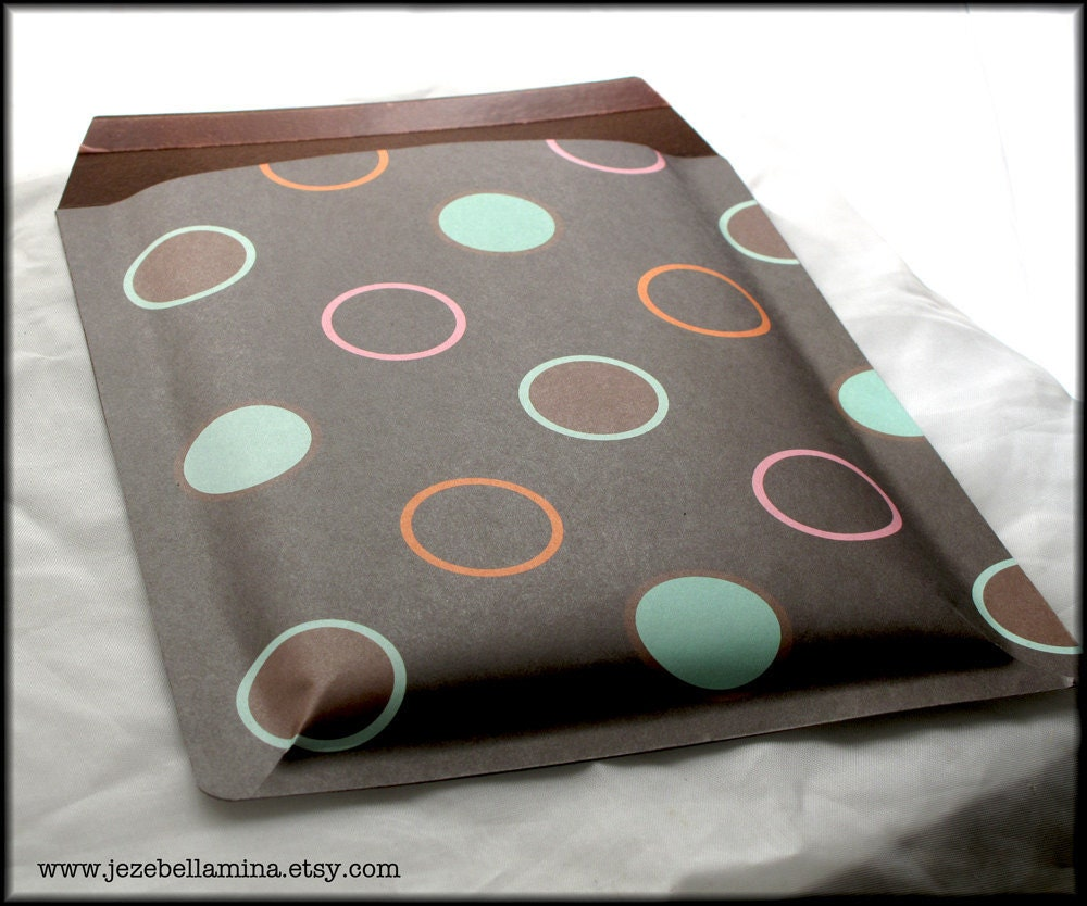 Decorative Bubble Mailer/Padded Envelope/Gift by jezebellamina