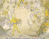 Vintage Sheet Music - Criss-Cross - Charming Illustrated Cover