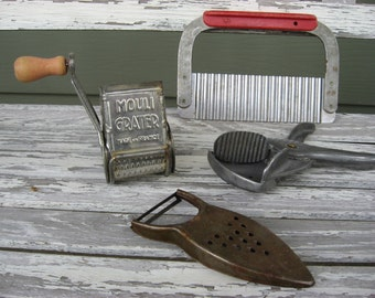VINTAGE KITCHEN gadgets tools utensils