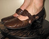 Patent Leather Mary Janes - Very Mod