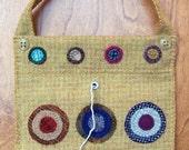 Penny Wool String Bag