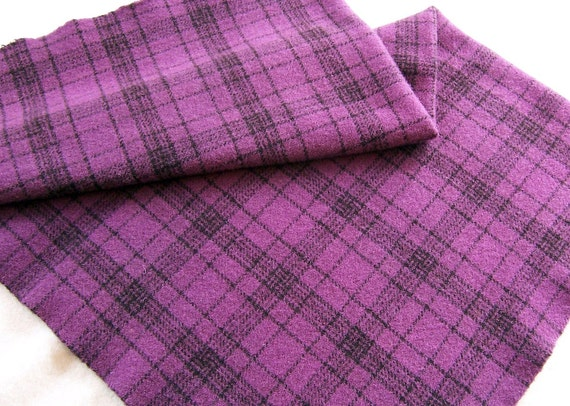 Fat Quarter Yd. of Hand Dyed and Felted Wool Fabric / Y78
