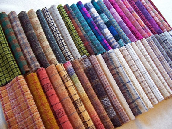 Texture Heaven Collection of Hand Dyed Felted Wool / W997 / ThreeSheepStudio