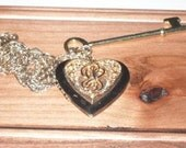 He Who Holds the Key to My Heart (locket Necklace)