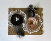 Lace Lollipop Flowers  The La Creme Collection