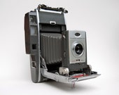 Vintage Polariod 900 Electric Eye Land Camera with Case and Accessories
