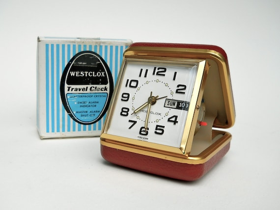 westclox travel alarm clock manual