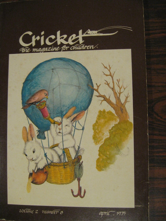 Cricket Magazine for Children 1975 Volume 2 number 8
