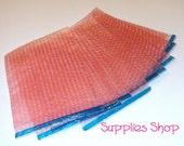 10  Pink Bubble Wrap Bags