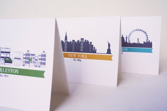 New York Card, New York Gift, NYC Card, Gift Under 25, Girlfriend Gift, Friend Gift, Teacher Gift