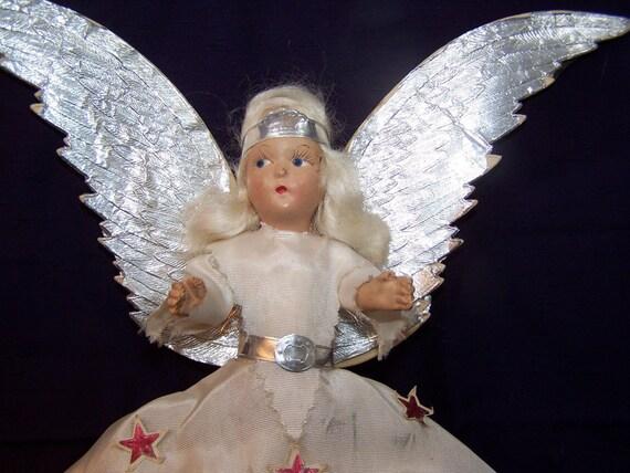 Noma Elite Angel Tree Topper. Original Box For By