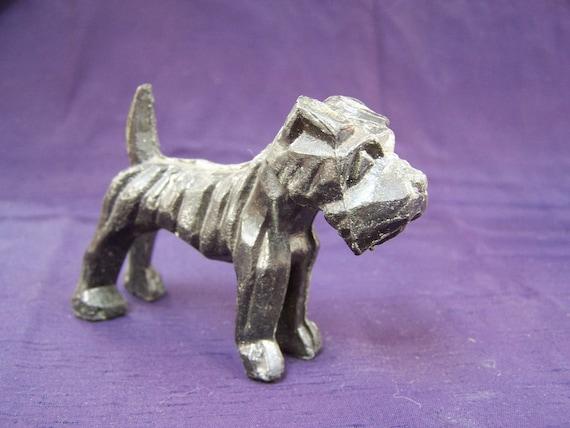 Cast Metal DOG Terrier figurine