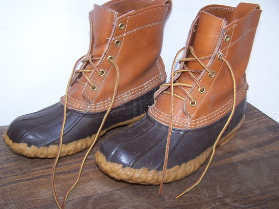 L.L. Bean Maine Hunting shoe Boots Size 8 or 9
