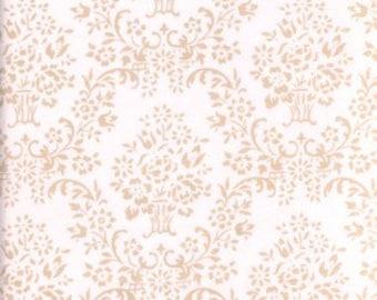 1 yard--Free Spirit--House Wallpaper--Powder--Annette Tatum