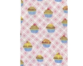 1 yard---Fabri-Quilt Inc--Sweet Cakes Allover--Fabric