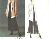 Vogue Paris Original 1540 Montana Jacket Vest Pants sz 8 10 12 FF