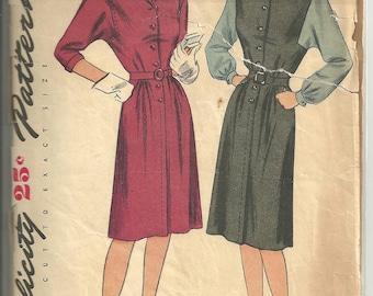Simplicity Dress Vintage 1480 sz 14
