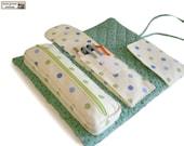 Roll organizer sewing pattern/tutorial, makeup bag pattern, cosmetics bag pattern  --- PDF