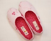 Shoes sewing pattern, Ballet flats, indoor shoes with strong soles sewing pattern (size 5 - 9)-- PDF--Beginner
