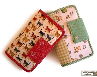 Wallet pattern with 27 pockets  -- PDF Files -- Instant download