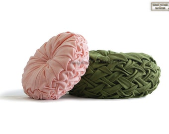 Smocked pillows sewing pattern/tutorial in PDF version