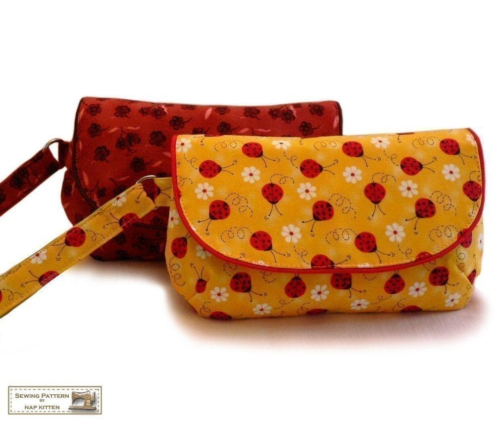 Clutch purse pattern etsy felted knitting patterns clutch bag by zippered clutch wristlet sewing pattern pdf jeuxipadfo Gallery