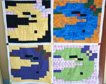 SALE! Ms. Pac-Man Quilt