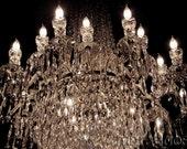 dublin chandelier I . 9x12.
