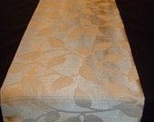Golden Leaves Festive Table Runner 53 x 12 inches
