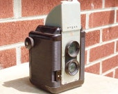 Vintage ARGUS 75 - Brown TLR Camera - Working or for TtV