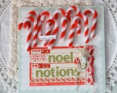 Noel Notions-Chenille Candy Canes