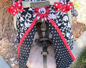 car seat canopy / car seat cover / nursing cover / carseat canopy / carseat cover