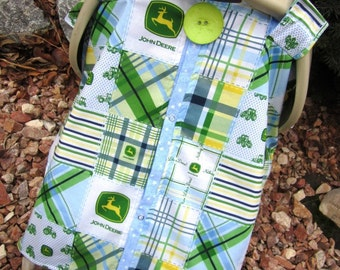 Carseat Canopy Country Boy JOHN DEERE  / Car seat cover / car seat canopy / carseat cover / carseat canopy / nursing cover