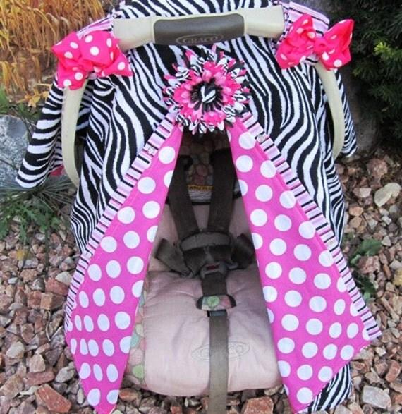 Zebra Print Car Seat Cover Car Seat Cover Nursing Cover