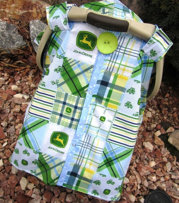 Carseat Canopy Country Boy JOHN DEERE  / Car seat cover / car seat canopy / carseat cover / carseat canopy / nursing cover