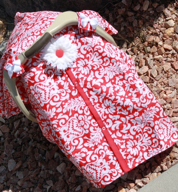 Infant Carseat Cover CLEARANCE Last One Ready To Ship Today