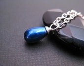 Royal Blue Freshwater Pearl