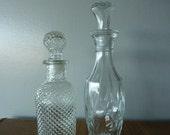 Set of Two Vintage Perfume Bottles