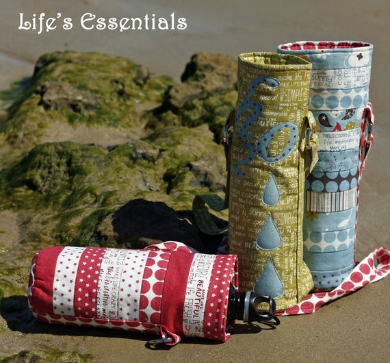 Lifes Essential Waterbottle Holder Pattern