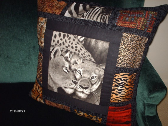 ACCENT PILLOW 22 X 22 Safari Theme