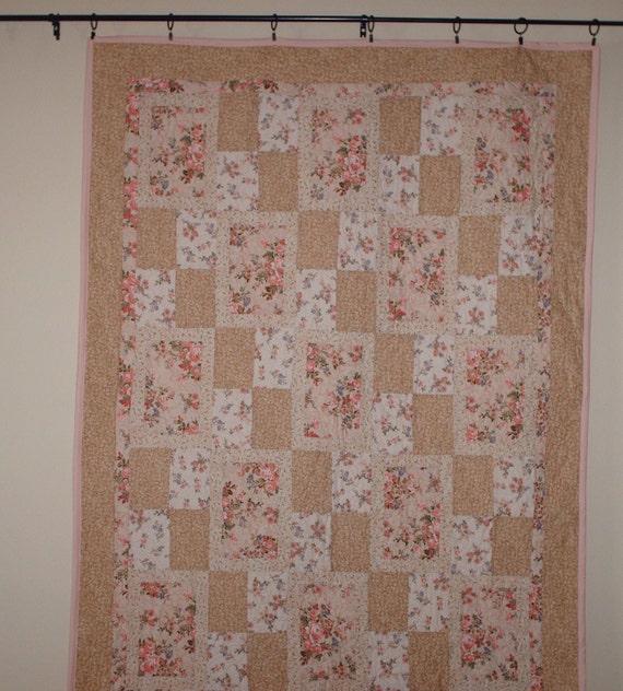 Swing patchwork  Quilt 53 x 72