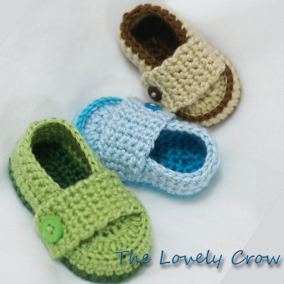 easy boy Crochet Pattern Loafers for Little PRINCE Loafers