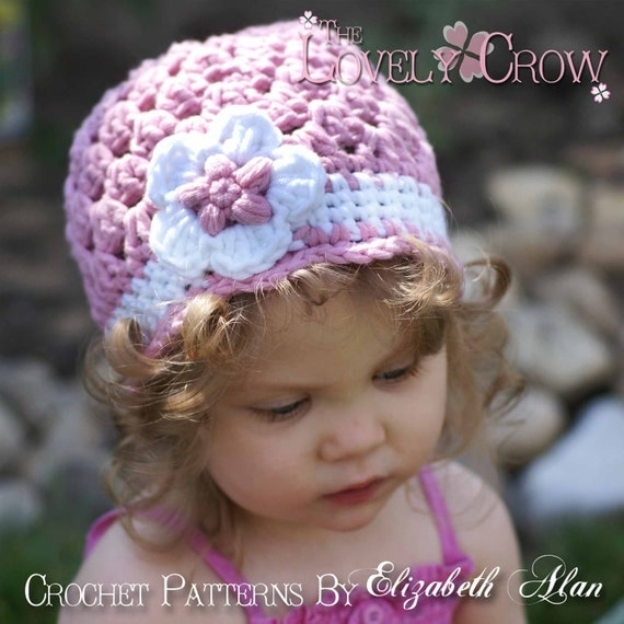 Bulky Yarn Child Hat Pattern Crochet : PDF Crochet Pattern for Bulky Yarn Princess Beanie by ...