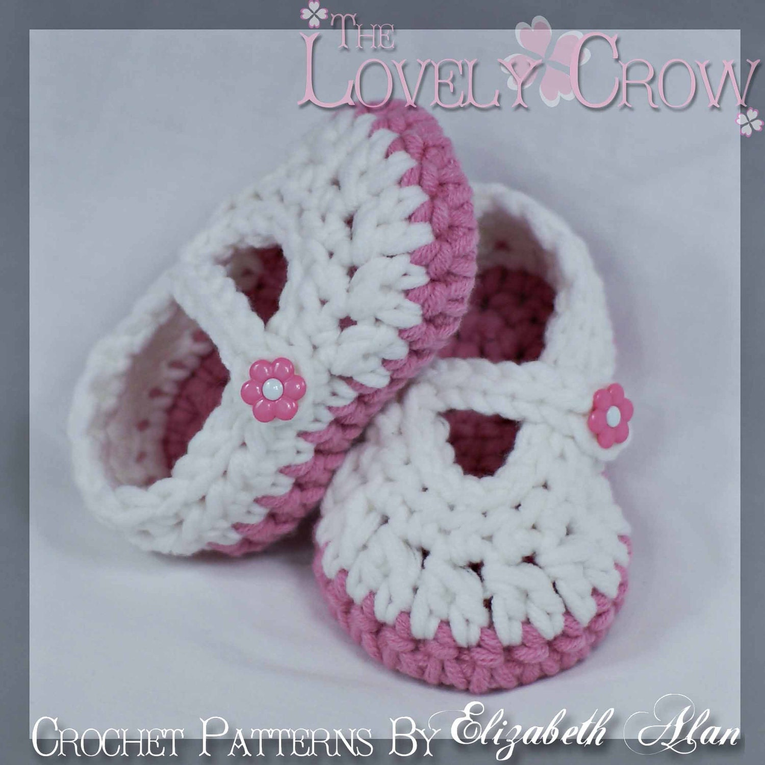 Mary janes crochet pattern for bulky yarn baby button maryjanes this is a digital file bankloansurffo Image collections