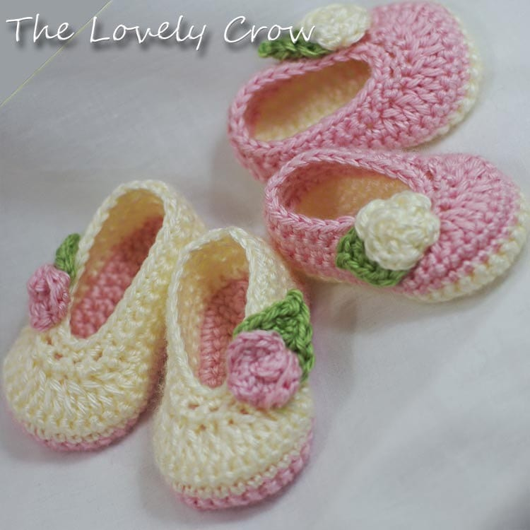 Crochet Baby Ballet Shoes Pattern : Crochet Baby Slippers Free Pattern Images & Pictures - Becuo