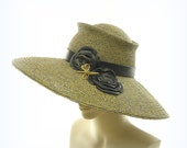Sun Hat - Wide Brim Hat for Women - Panama Straw Hat - Big Hat