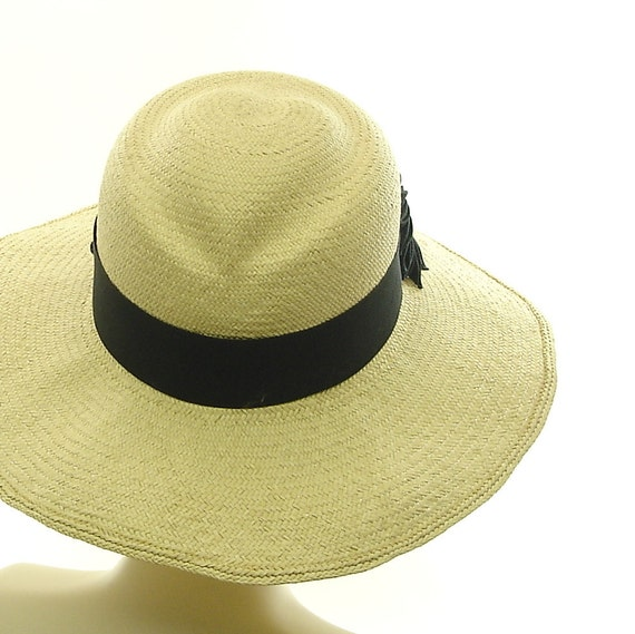 Summer Hat - Wide Brim Hat for Women Valentine Grueso Straw Sun Hat - Size Large