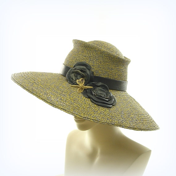 Sun Hat - Wide Brim Hat for Women - Panama Straw Hat - Big Hat