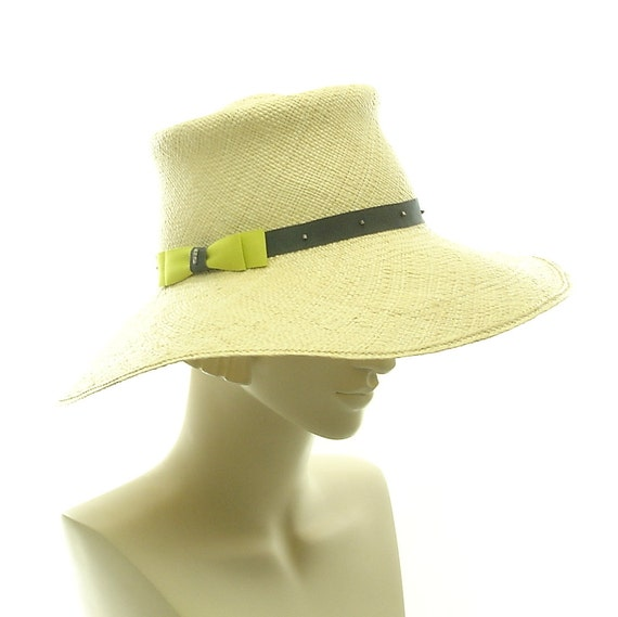 Natural Straw Hat - Panama Straw Sun Hat